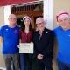 jo kernahan receives certificate from alcalde