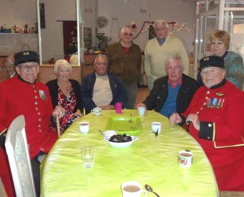 Chelsea Pensioners Reachout